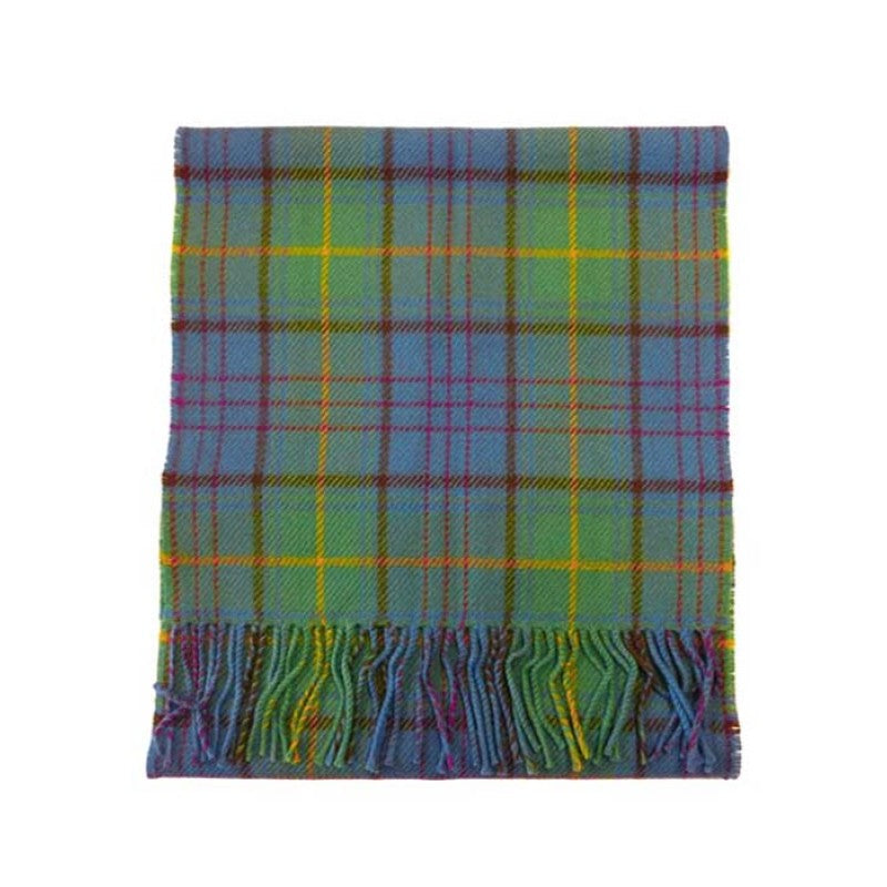 County Donegal Tartan Lambswool Scarf