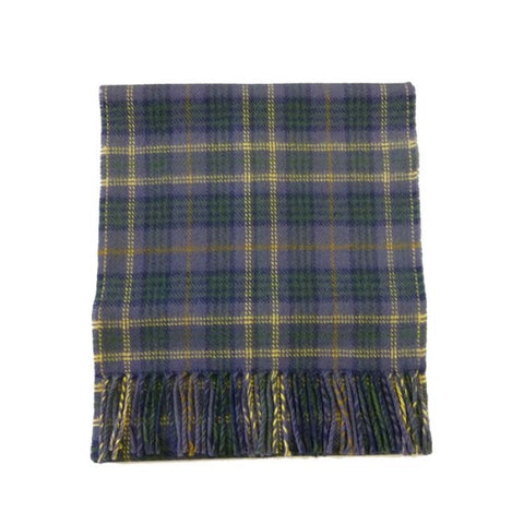 County Fermanagh Tartan Lambswool Scarf