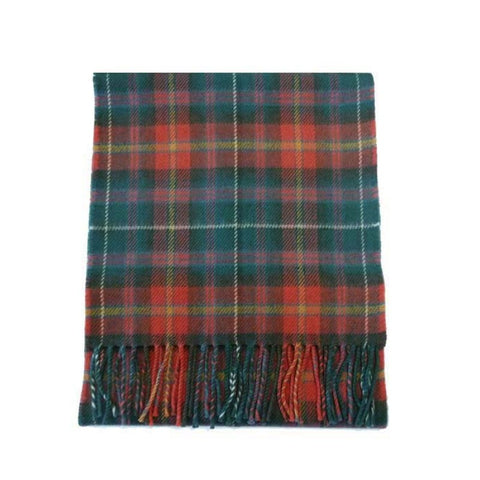 County Meath Tartan Lambswool Scarf