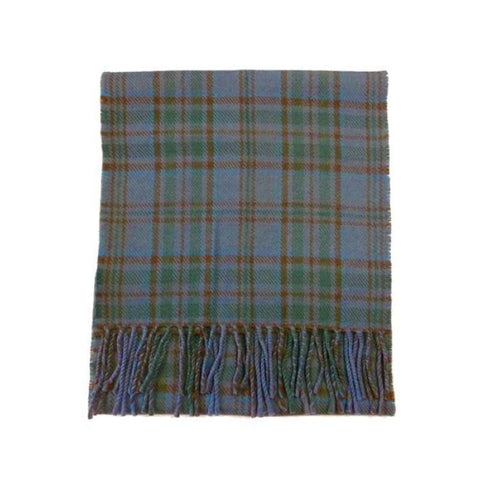 County Wicklow Tartan Lambswool Scarf