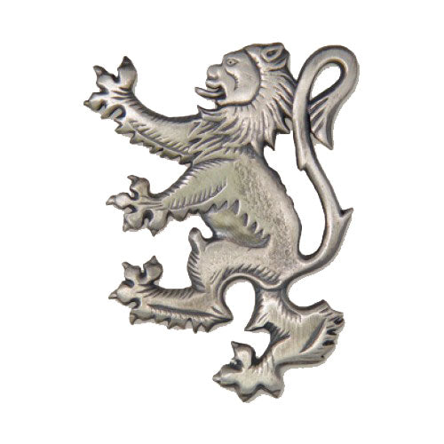 Lion Rampant Kilt Pin Brooch (Antique)