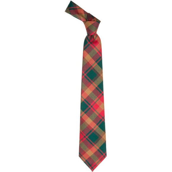 Maple Leaf Tartan Tie