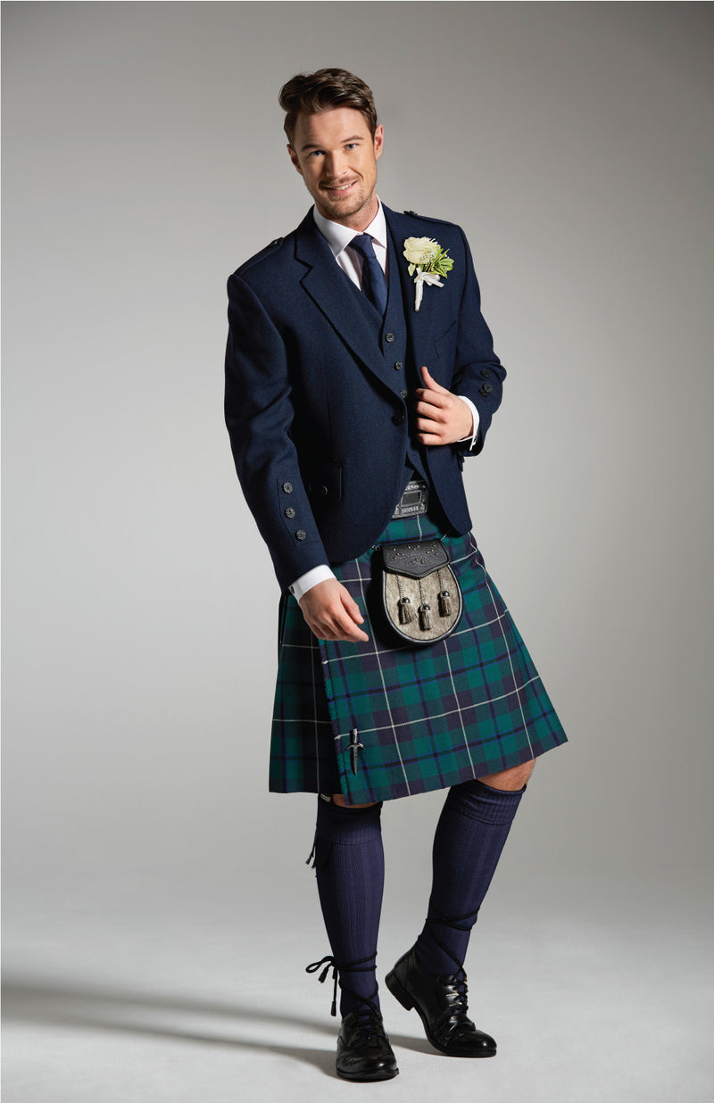 Modern Douglas Kilt Hire Package