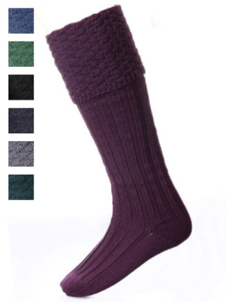 Premium Pipe Band Sock (8 Colours)
