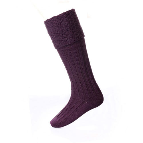 Premium Pipe Band Sock: Thistle