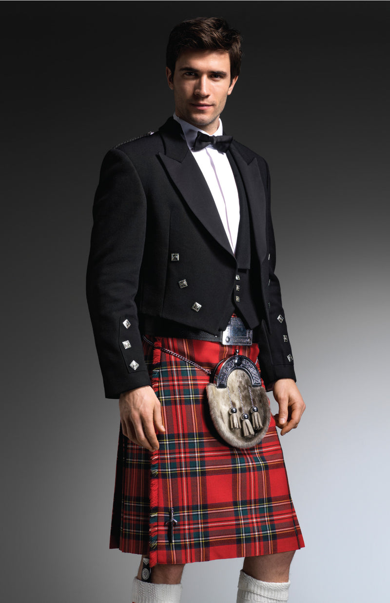 Royal Stewart Kilt Hire Package