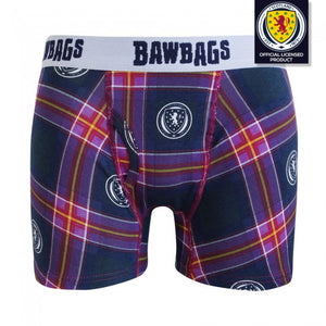 Scotland National Team - Tartan Boxer Shorts