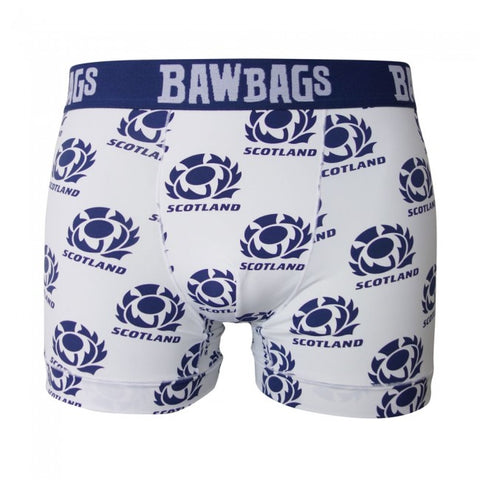 Scotland Rugby Away Boxer Shorts