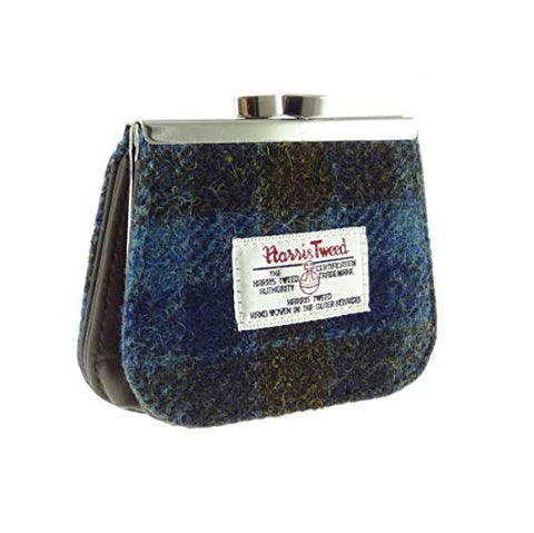 Harris Tweed Clasp Purse (3 Tweeds)