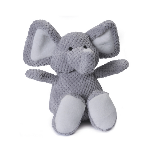 Checkered Plush Elephant