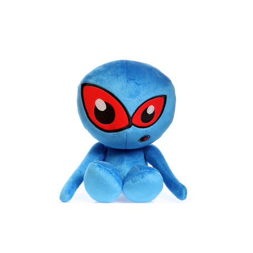 Hear Doggy Blue Martian Plush