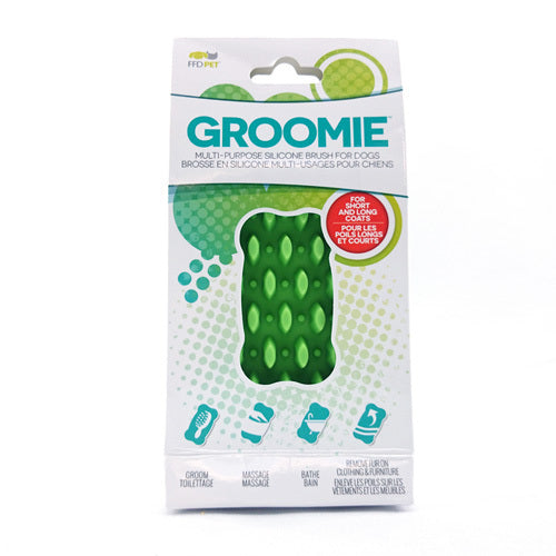 Groomie™ - Multi-Purpose Silicone Brush