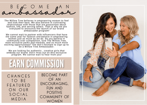 Why become an ambassador for The Willow Tree