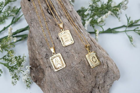 Three gold plated necklaces from Bracha
