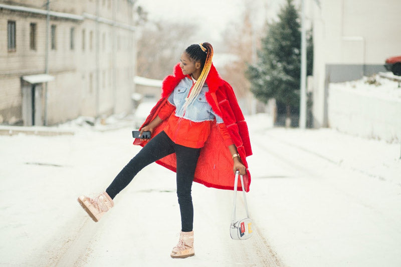 bright and colorful winter clothing style