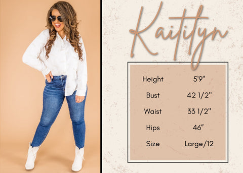 kaitilyn's height and size information