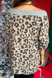 Burning Leopard Love Top
