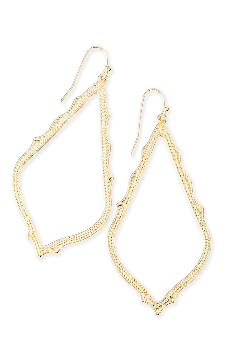 Sophee Earrings Gold - The Willow Tree Boutique