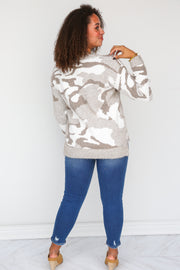 Lucky Lady Camo Sweater