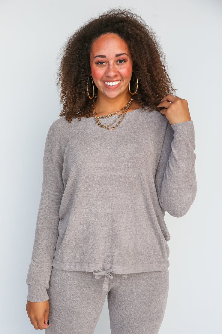 Cozychic Slouchy Pullover | Barefoot Dreams - FINAL SALE