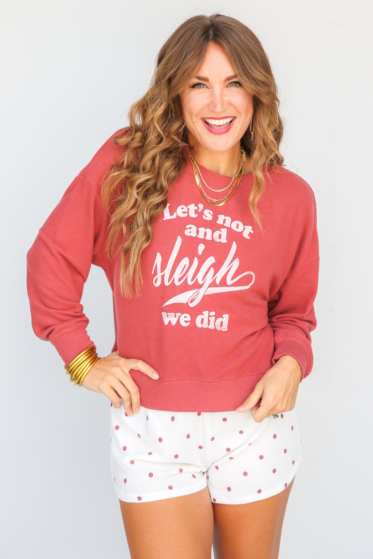 Elle Sleigh Sweatshirt | Z Supply