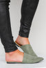 Sleek Style Suede Slip On Shoe - FINAL SALE