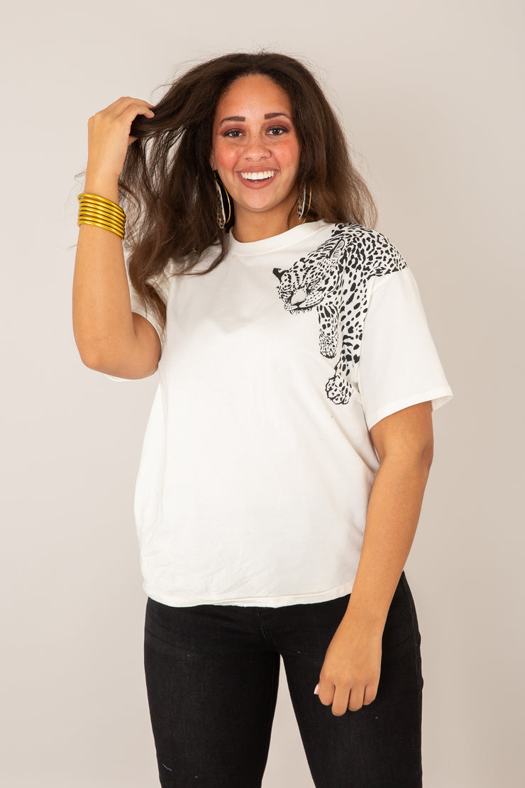 You've Been Spotted Leopard Tee