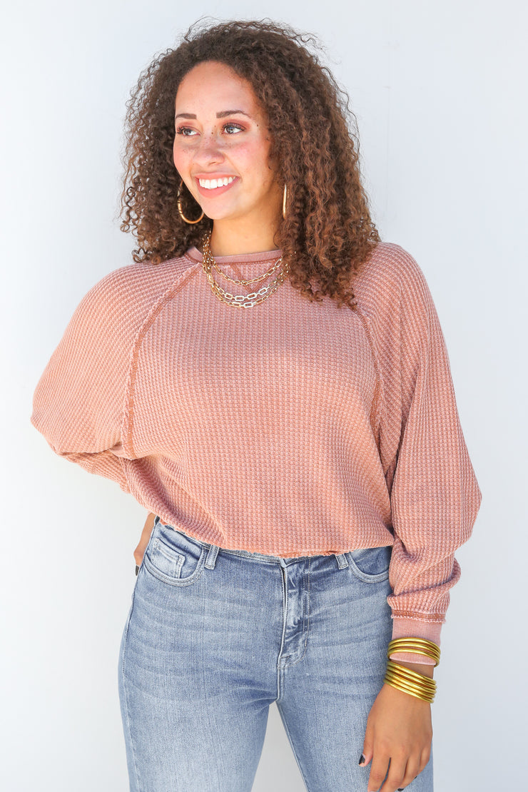 Claire Waffle Long Sleeve | Z Supply