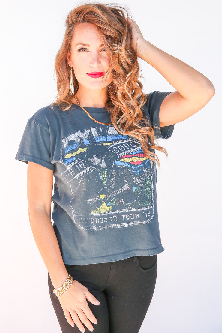 Bob Dylan Live In Concert Tee