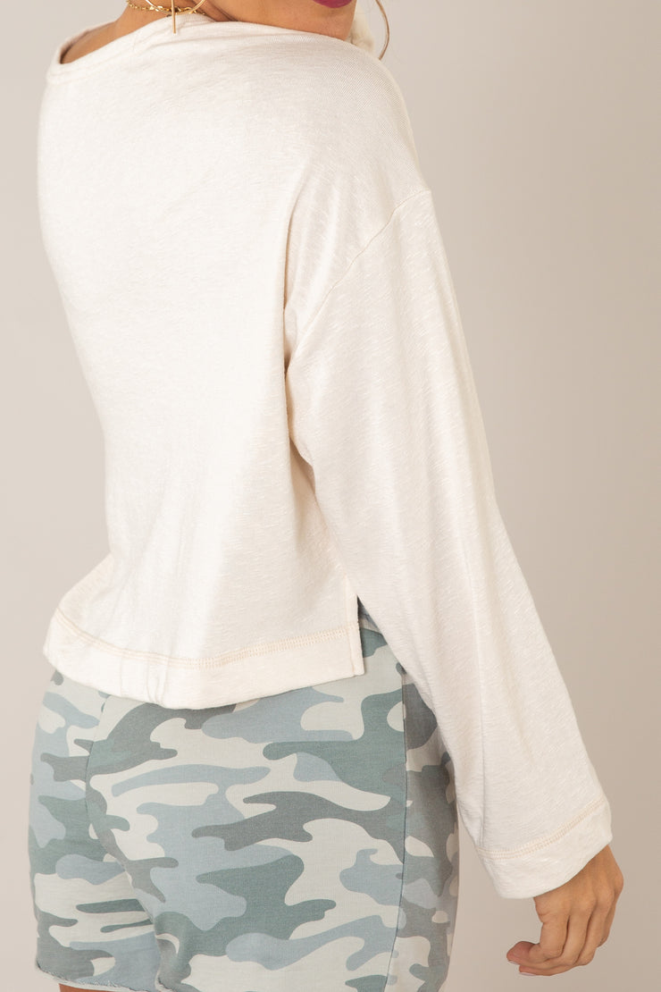 Simone Terry Slub Top | Z Supply