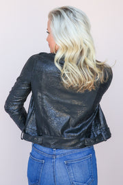 Storm Skilled Suede Moto Jacket - FINAL SALE
