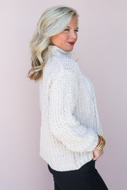Eskimo Kisses Turtleneck Sweater