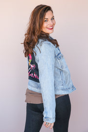 All Yours Distressed Denim Jacket