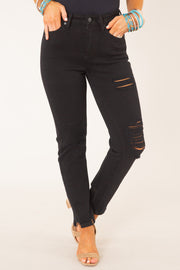 Michelle Ultra High Rise Slim Straight