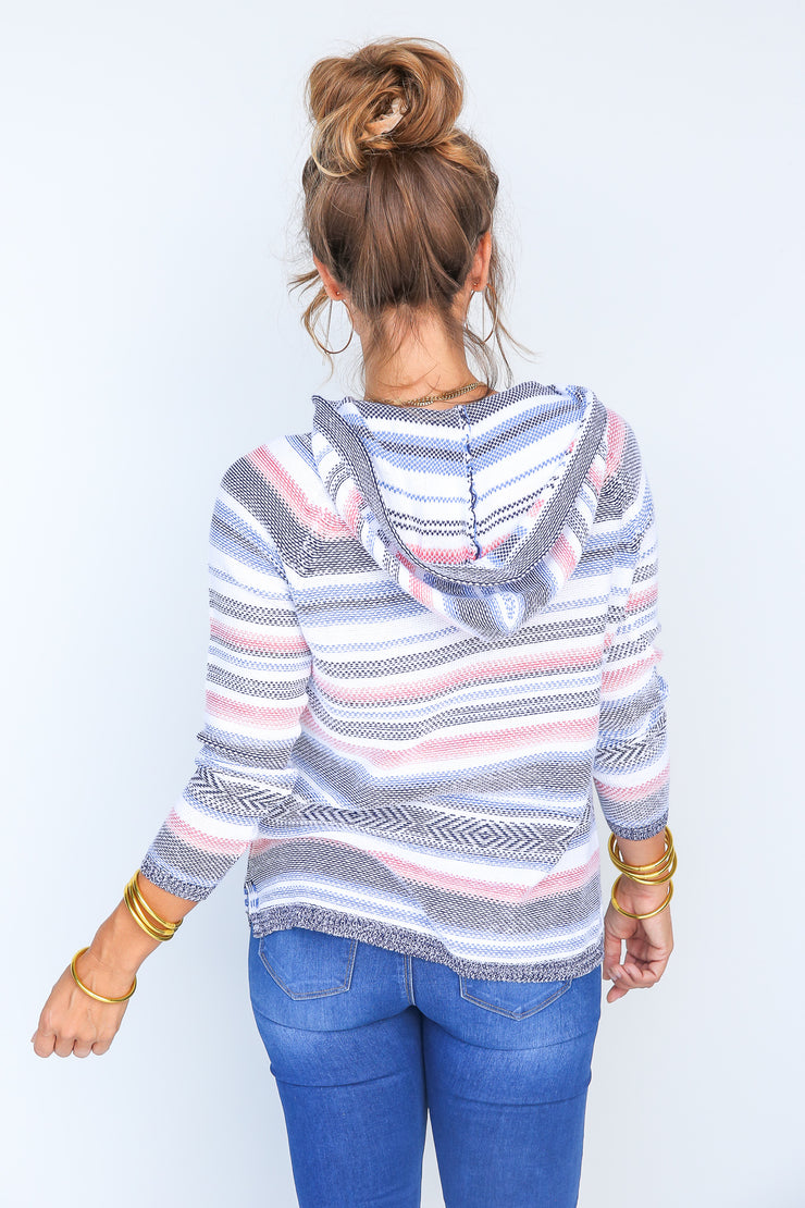 Leila Sweater Hoodie | Tribal - FINAL SALE