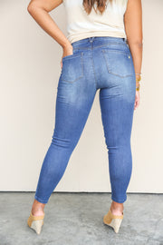 High Rise Luxe Touch Ankle Jeans | Democracy