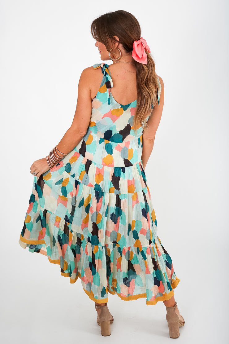 Riley Ruffle Dress
