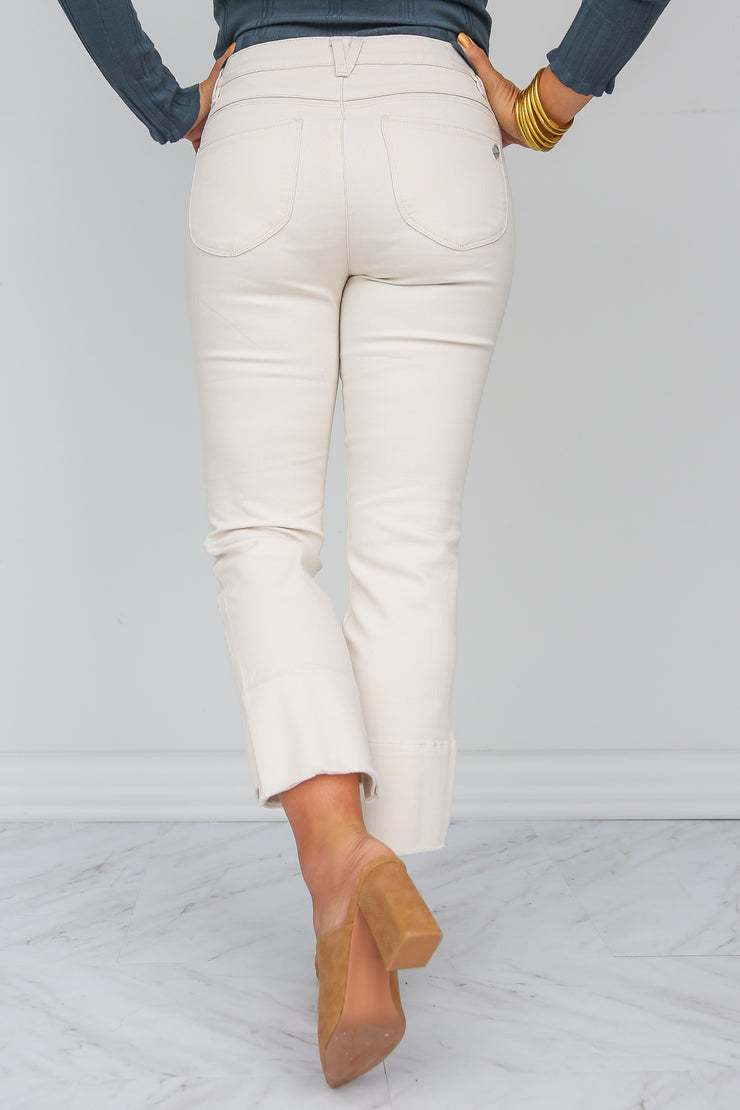 Almond Kick Flare Jean | Democracy - FINAL SALE