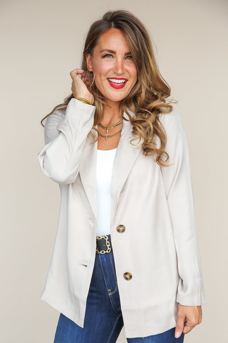 Perfect Plan Blazer Jacket