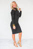 Clean Slate Midi Sweater Dress - FINAL SALE