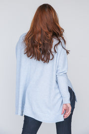 Getting Coffee Turtleneck Top - FINAL SALE