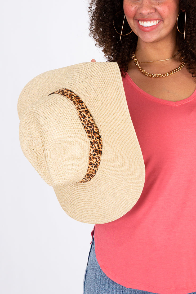 Out With A Breeze Straw Hat