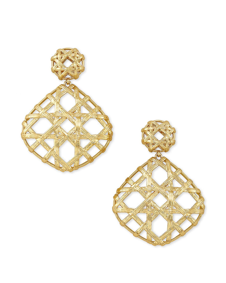 Natalie Statement Earring - Gold