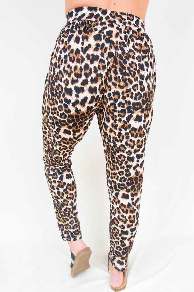 Adalynn Cheetah Joggers - The Willow Tree Boutique