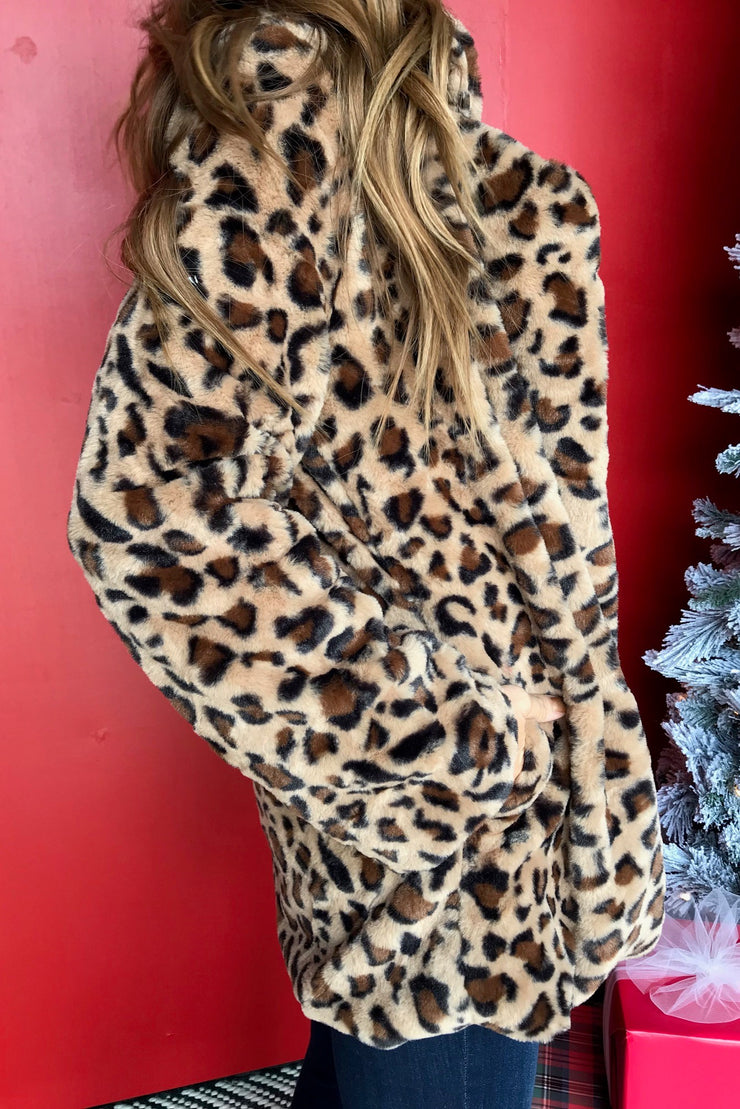 Easy Way Out Leopard Jacket