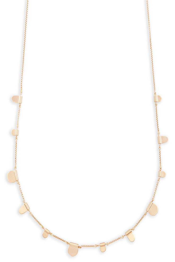 Olive Necklace Rose Gold - The Willow Tree Boutique