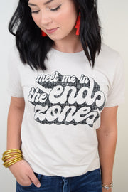 Meet Me In The End Zone Tee
