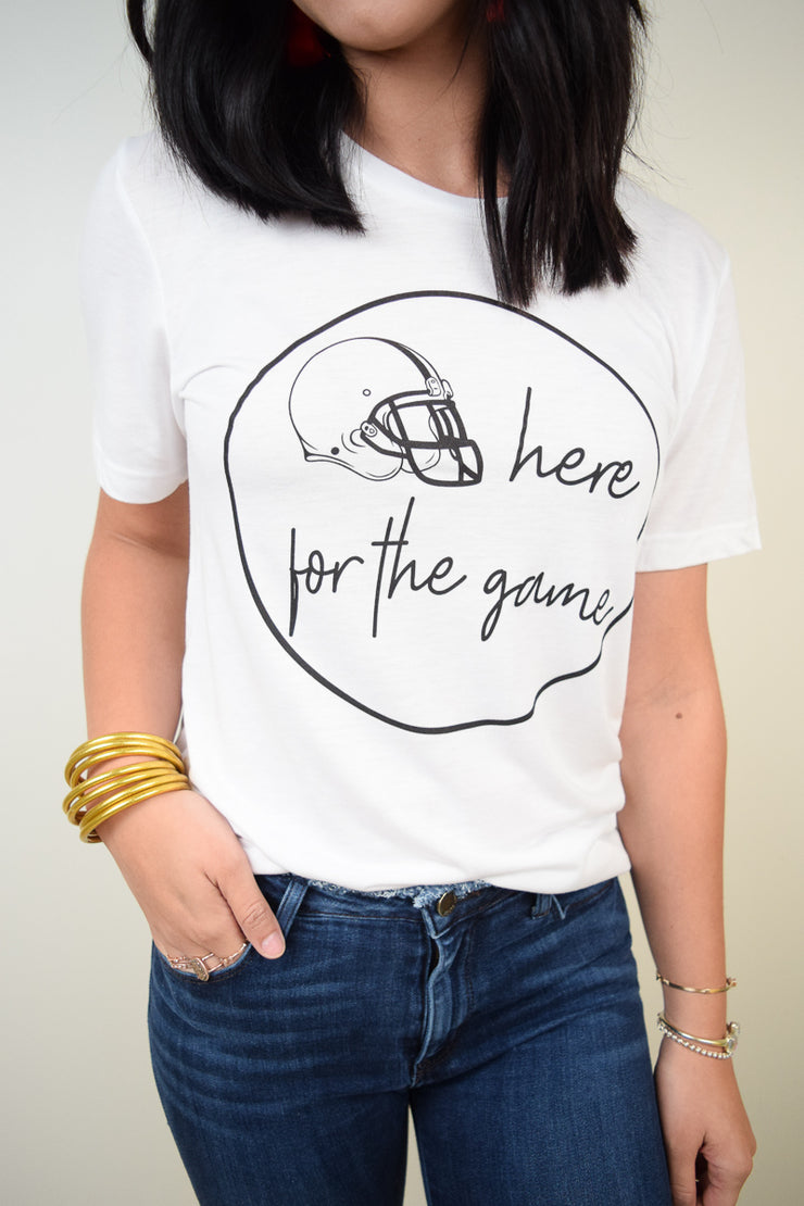 Here For The Game Tee