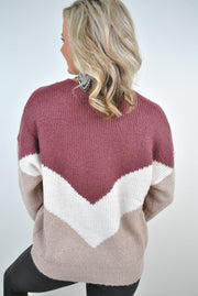 Fireside Tricolor Sweater