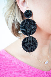 Lights Out Earrings